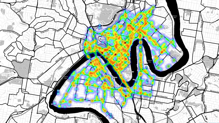 Queensland road accidents mapped with Shiny and leaflet in R